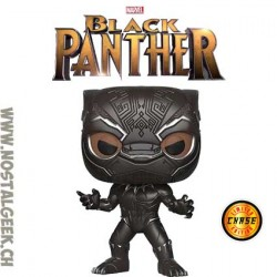 Funko Pop Marvel Black Panther (Masked) Chase Exclusive Vynil Figure