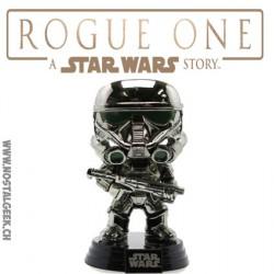 Funko Pop! Star Wars: Rogue One Imperial Death Trooper Chromée Edition limitée