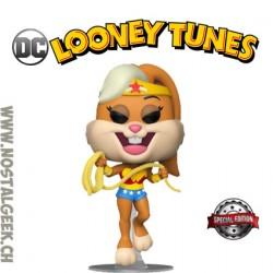 Funko Pop DC Looney Tunes Lola Bunny as Wonder Woman Exclusive Vinyl Figure
