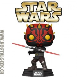 Funko Pop Star Wars Funko Pop Star Wars Darth Maul (The Clone Wars) Vinyl Figure