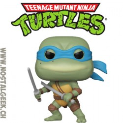 Funko Pop Retro Toys Les Tortues Ninja Leonardo (Retro) Vinyl Figure