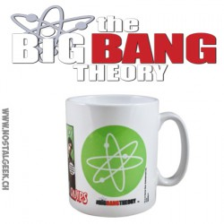 The Big Bang Theory Superhero Quips Mug - Ceramic Coffee Tea Cup