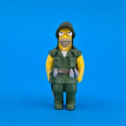 The Simpsons Fighting Abe Simpson second hand figure (Loose)