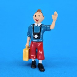 Tintin with suitcase second hand figures (Loose)