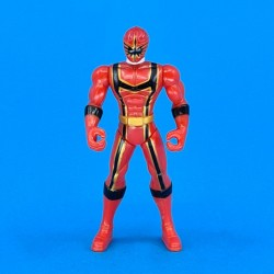 Power Rangers Operation Overdrive Mystic Force Red Ranger second hand figure (Loose) 10 cm