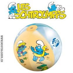 Ballon de plage Schtroumpfs