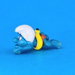 The Smurfs swimming second hand Figure (Loose)