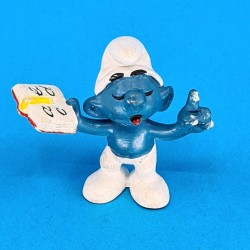 The Smurfs with book second hand Figure (Loose)