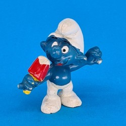 The Smurfs with Ice Cream second hand Figure (Loose)