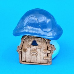 The Smurfs - Mini house blue second hand Figure (Loose)