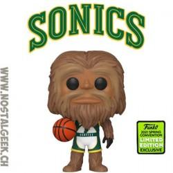 Funko Pop ECCC 2021 NBA Mascots Sonics Squatch Edition Limitée