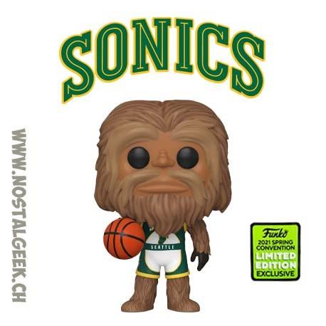 Funko Pop ECCC 2021 NBA Mascots Sonics Squatch Exclusive Vinyl Figure