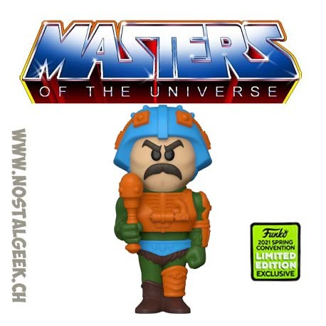 Funko Soda ECCC 2021 Masters of the Universe Man-At-Arms Exclusive Vinyl Figure