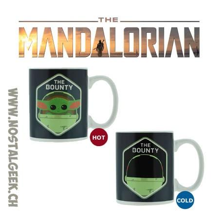 Star Wars The Mandalorian The Child (Baby Yoda) Ceramic Mug Heat Change