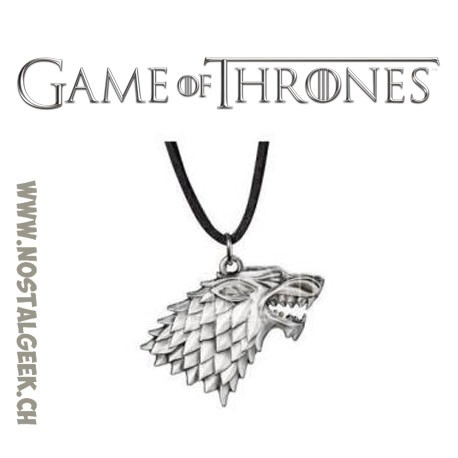 Game of Thrones: House Stark Pendant