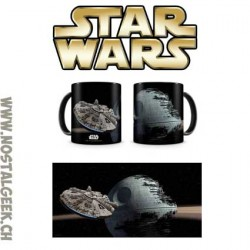 Star Wars Mug Millenium Falcon vs. Death Star 330 ml