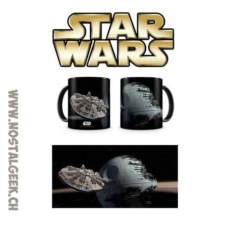Star Wars Mug Millenium Falcon vs. Death Star 330 ml