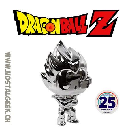 Funko Pop Dragon Ball Super Vegeta (Chrome) Exclusive Vinyl Figure