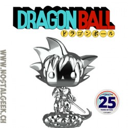 Funko Pop Dragon Ball Goku & Flying Nimbus (Chrome) Exclusive Vinyl Figure