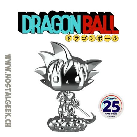 Funko Pop Dragon Ball Goku & Flying Nimbus (Chrome) Exclusive Vinyl Figure