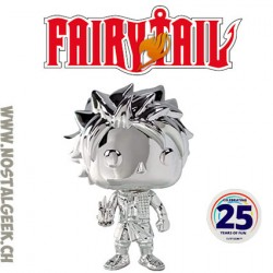 Funko Pop! Anime Fairy Tail Natsu (Chrome) Exclusive Vinyl Figure