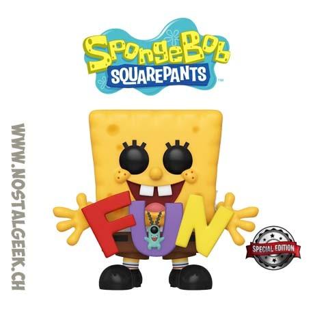 Funko Pop Animation F.U.N. Spongebob Exclusive Vinyl Figure