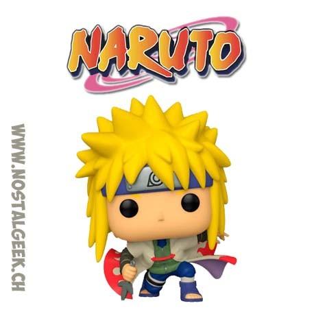 Funko Pop! Anime Manga Naruto Shippuden Minato Namikaze (Crouching) Vinyl Figure