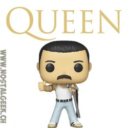 Funko Pop Rocks Queen Freddie Mercury (Live Aid) Vinyl Figure