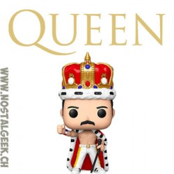 Funko Pop Rocks Queen Freddie Mercury (Crowned) Vinyl Figure