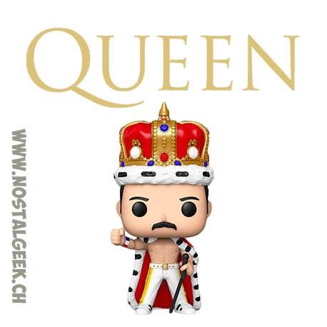 Funko Pop Rocks Queen Freddie Mercury (Crowned) Vinyl Figure