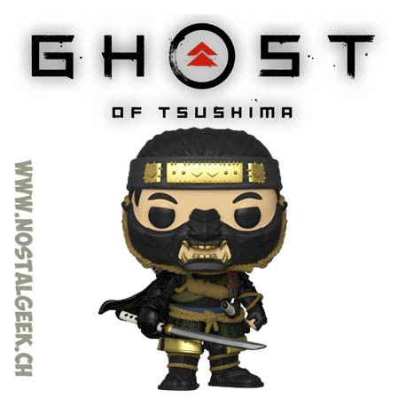 Funko Pop Games Ghost of Tsushima Jin Sakai Vinyl Figure