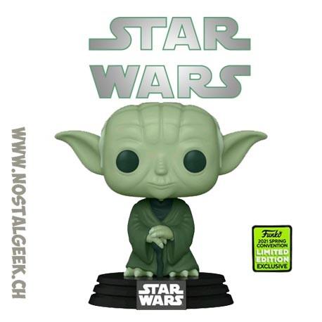 Funko Pop ECCC 2021 Star Wars Yoda (Military Green) Exclusive Vinyl Figure