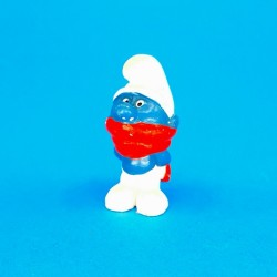 The Smurfs red scarf second hand Figure (Loose)