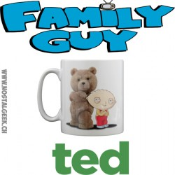 Tasse Familly Guy X Ted (Stewie and Ted)