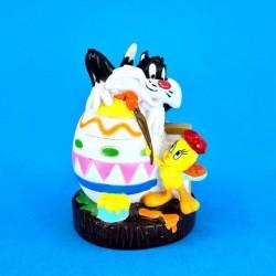 Looney Tunes Titi et Grosminet Oeuf de Pâques Figurine d'occasion (Loose)
