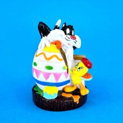 Looney Tunes Tweety & Sylvester Easter Egg second hand figure (Loose)