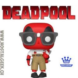Funko Pop Marvel Nerd Deadpool Exclusive Vinyl Figure