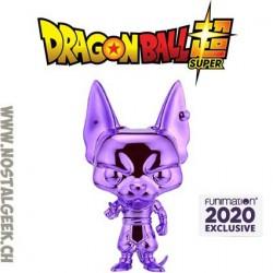 Funko Pop Dragonball Z Beerus (Purple Chrome) Exclusive Vinyl Figure