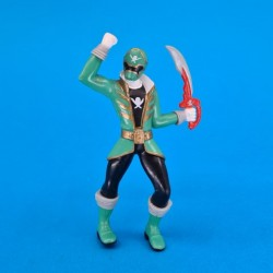 Power Rangers Pirates Green Ranger second hand action figure (Loose)