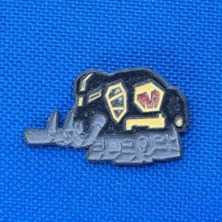 Mighty Morphin Power Rangers Legacy Mastodon Zord second hand Pin (Loose)