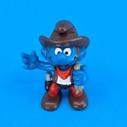 The Smurfs Cow Boy second hand Figure (Loose)