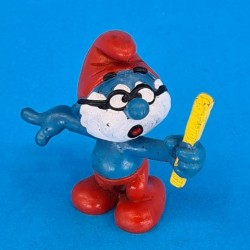The Smurfs Papa Smurf profesor 1981 second hand Figure (Loose)