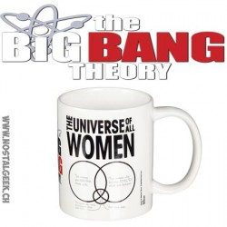 The Big Bang Theory - Universe of All Women Mug - Ceramic Coffee Tea Cup