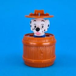 Disney 101 Dalmatians in barrel second hand figure (Loose)