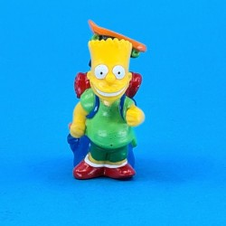 The Simpsons Bart Simpson camping second hand figure (Loose)