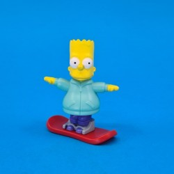 The Simpsons Bart Simpson snowboard second hand figure (Loose)