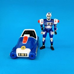 Power Rangers Turbo Blue Senturion second hand action figure (Loose)