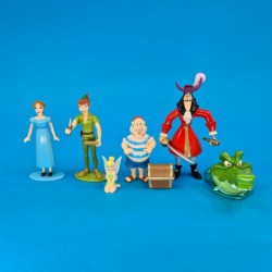 Disney Peter Pan Lot de 6 Figurines d'occasion (Loose)