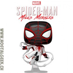 Funko Pop! Marvel Gameverse Spider-Man Miles Morales (T.r.a.c.k. Suit)