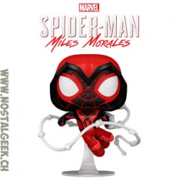 Funko Pop! Marvel Gameverse Spider-Man Miles Morales (Crimson Cowl Suit) Vinyl Figure